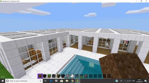 A cool modern house